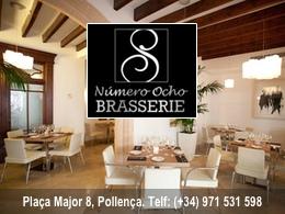 Restaurant Numero8 Brasserie 8 Pollensa